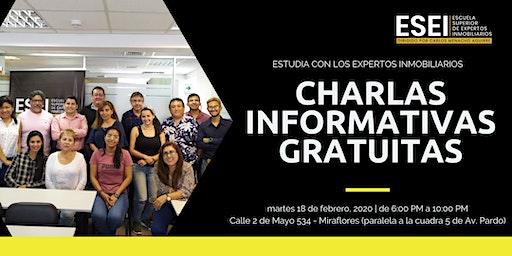 SEGUNDA CHARLA INFORMATIVA FEBRERO 2020