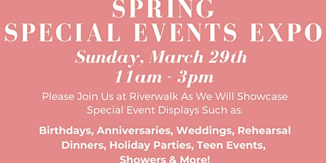Riverwalk Golf Club Special Events Expo tickets