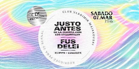 CDC presenta FUS DELEI en Quilmes entradas