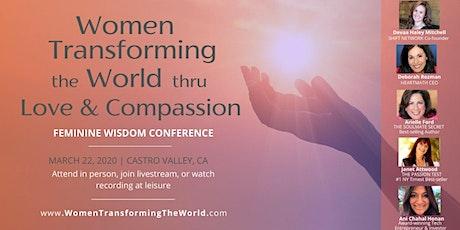 Women Transforming the World thru Love & Compassion tickets