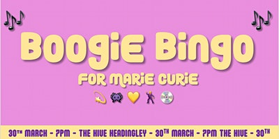 Boogie Bingo (for Marie Curie)