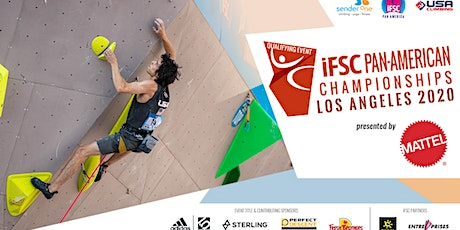 IFSC Pan-American Championships - Olympic Qualifying Competition tickets