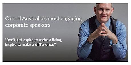 "Tony Burns Corporate Speaking - ""Dream Believe Achieve"" tickets"