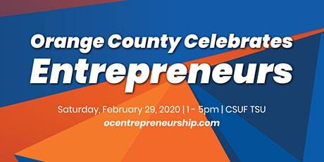 Orange County Celebrates Entrepreneurs tickets