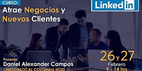 LinkedIn Atrae Negocios y Nuevos Clientes  boletos