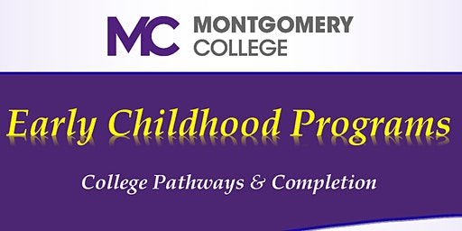 MC Early Childhood Info. Session: Paying for an Early Childhood Degree