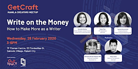 Write on the Money: How to Make More as a Writer tickets