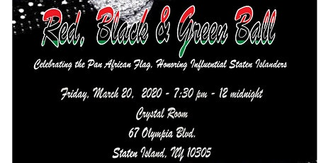 3rd Annual Red, Black And Green Ball tickets