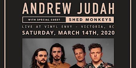Andrew Judah (Kelowna, BC) & Shed Monkeys (Victoria, BC) ~ LIVE tickets