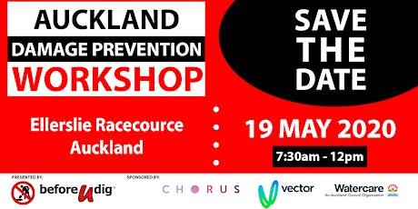 Auckland Damage Prevention Workshop 2020 tickets
