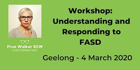 Understanding & Responding to Fetal Alcohol Spectrum Disorder (FASD) tickets