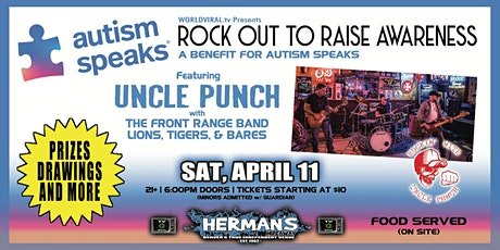 BENEFIT for AUTISM SPEAKS -ft. Uncle Punch, The Frnt Rnge Bnd, Lions Tigers tickets