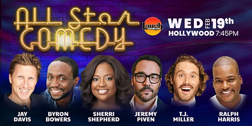 TJ Miller, Sherri Shepherd, and more - All-Star Comedy