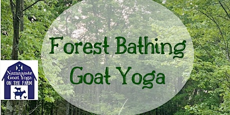 Forest Bathing Goat Yoga: Namaaaste Goat Yoga tickets