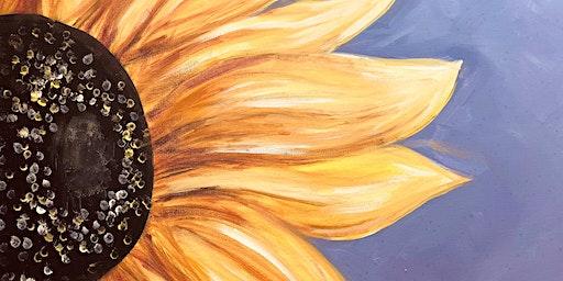 Paint Night -Sunflower