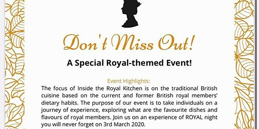 Inside The Royal Kitchen