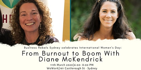 From Burnout to Boom tickets