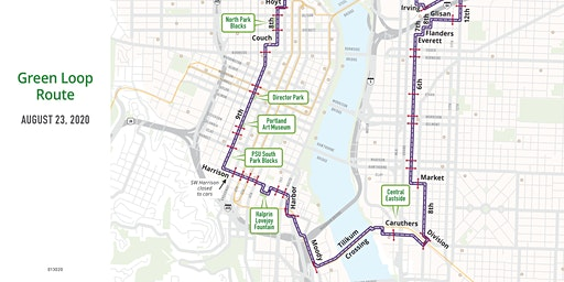 2020 Sunday Parkways - Green Loop - Volunteer Aug 23rd