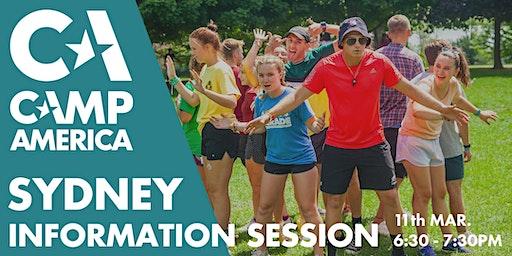 Sydney - Camp America Info Session