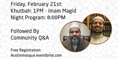 Friday Nights- Imam Magid & Sheikh Islam- The  Study Sin