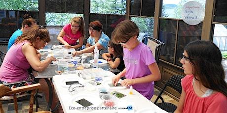 Atelier de mosaïque de verre billets