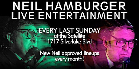 Neil Hamburger LIVE at the Satellite EVERY LAST SUNDAY! tickets