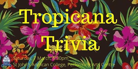 Friends of the Arts Tropicana Trivia Night tickets
