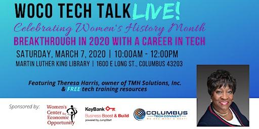 Women of Color Tech Talk LIVE!
