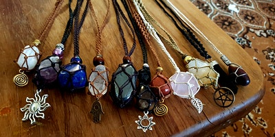 Begginers Crystal Macrame Necklace Workshop