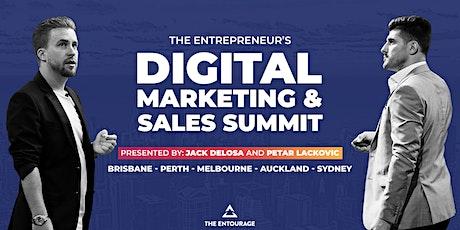The Entrepreneur's Digital Marketing & Sales Summit - Sydney tickets