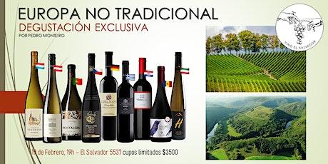 Degustación de vinos del Viejo Mundo - Europa No Tradicional entradas