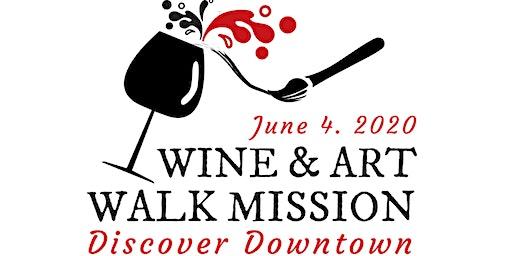 Wine & Art Walk - Downtown Mission