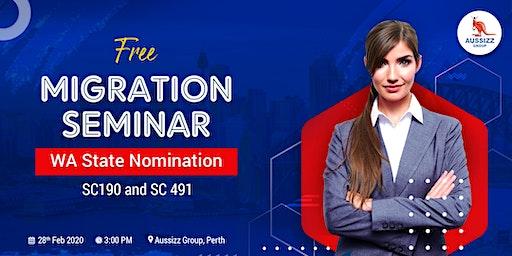 Free Migration Seminar - WA State Nomination