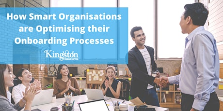 Onboarding: How Smart Organisations Are Optimising Their Onboarding Process tickets