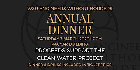 WSU EWB Annual Dinner tickets