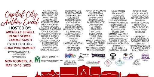 Capital City Author Event 2020