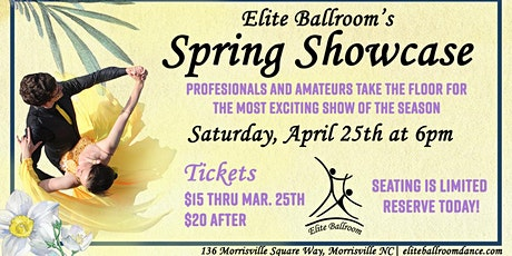 Ballroom Dance Spring Showcase at Elite Ballroom tickets
