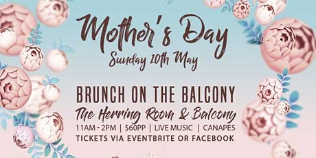 Brunch on the Balcony for Mothers Day tickets