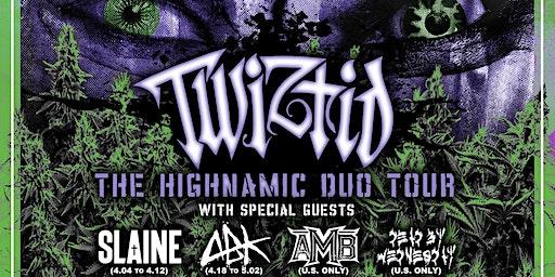 Twiztid, Slaine,Axe Murder Boyz (AMB), & Dead By Wednesday