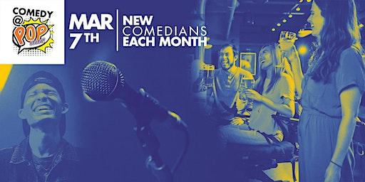Comedy @ POP INN Bar - Mar 7th