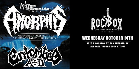 Amorphis - Tales from the 1000 Lakes tour tickets