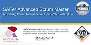 """Curso """"SAFe Advanced Scrum Master 5.0"""" con..."""