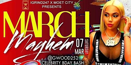 March Mayhem CELEBRITY BDAY BASH w/RENNI RUCCI