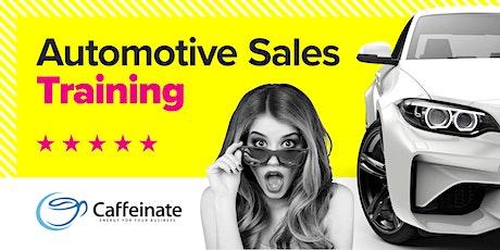 Automotive Sales Training Course tickets
