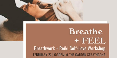 Breathe + FEEL | Breathework and Reiki Healing | tickets