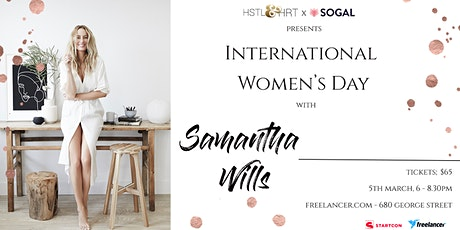 International Women's Day: an evening with Samantha Wills tickets