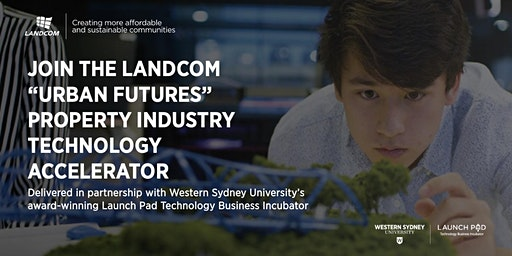 Landcom 'Urban Futures' Property Technology Accelerator Information Session