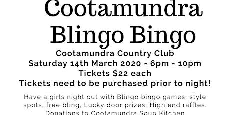 Cootamundra's Blingo Bingo tickets
