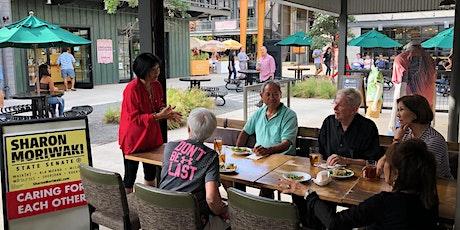 February Community Chat with Senator Sharon Moriwaki tickets