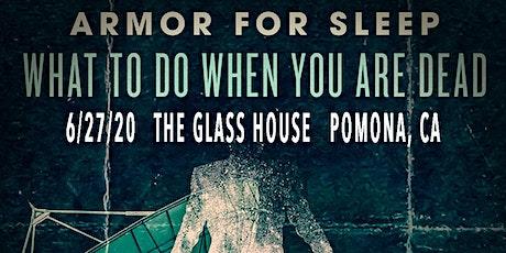 Armor for Sleep tickets